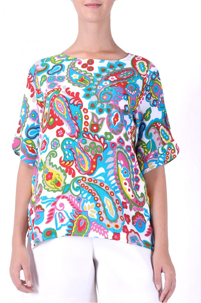 Paisley blouse (40% off)